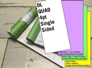 DL Quad - 4 part (4pt) Single Sided